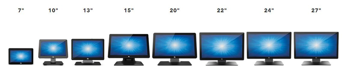 1302L 13 Touchscreen Monitor line up