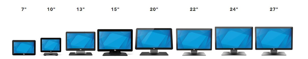 1502L 15 Touchscreen Monitor line up
