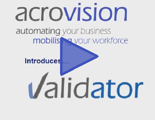 Acrovision Validator Video