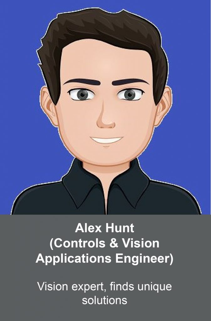 Image for Alex Hunt, Controls & Vision Applications Engineer