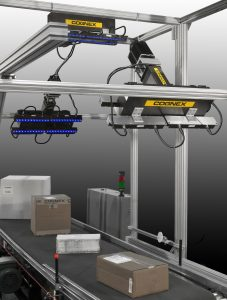 Image of Cognex DataMan 503 on production line
