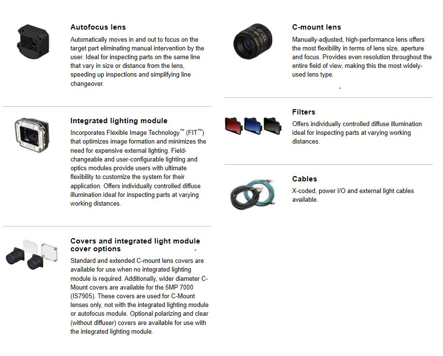 In-Sight D900 Accessories