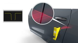 In-Sight laser profiler in automotive application