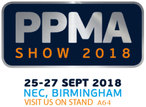 PPMA 2018 - visit us on stand A64