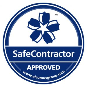 logo for SafeContractor accreditation