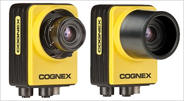Cognex In-Sight 7000 - With and Without Lens Cap