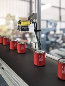 Cognex In-Sight 7000 drink can application